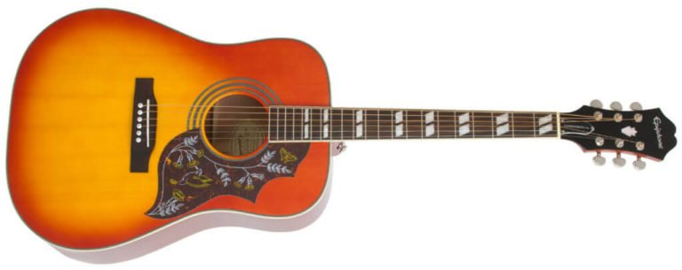 Epiphone Hummingbird pro Acoustic Guitar Review